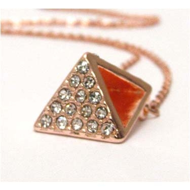 Rose Gld Pyramid