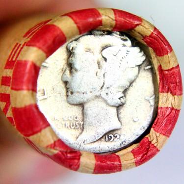 1924 10c-1c Roll