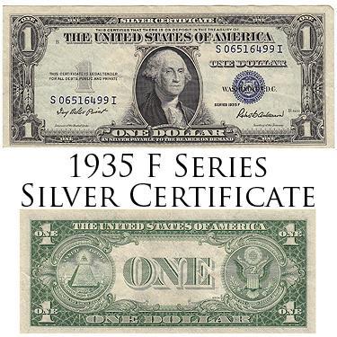 1935F Slvr Cert