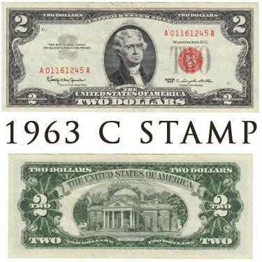 1963 C Stamp