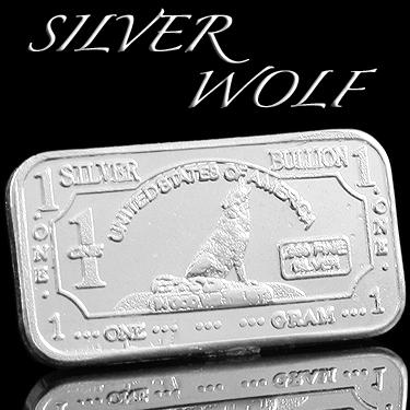 .999 SILVER WOLF