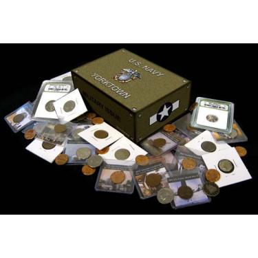 WWII Box Coins