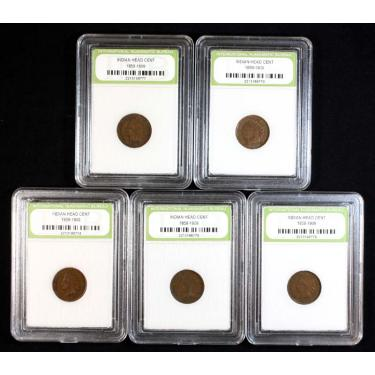 5 Indian Heads 1