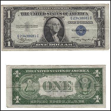 $1.00 Silver Cer