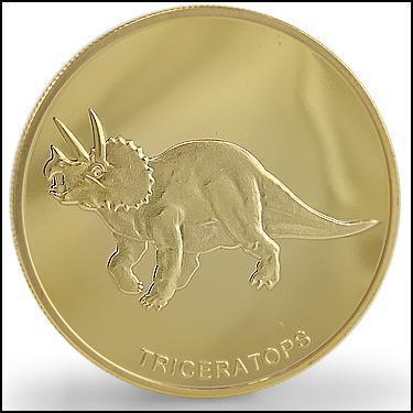 Triceratops Coin
