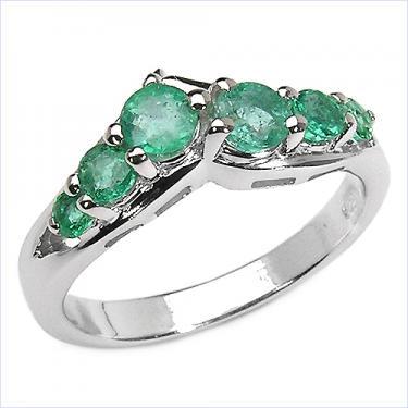 0.84CTW Emerald