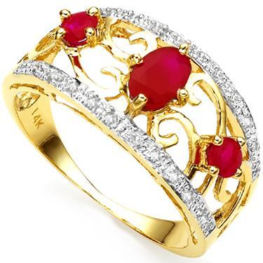 Ruby & Dia. Ring