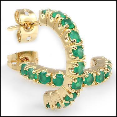 1.0 CTW Emeralds