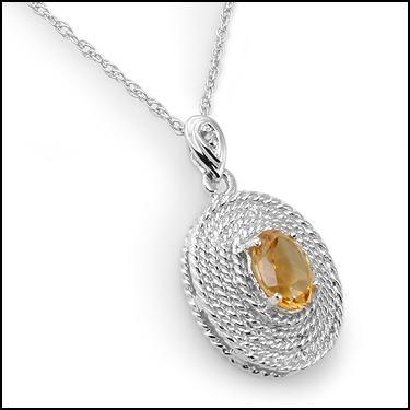 Diamond Citrine