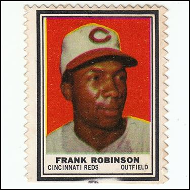 1962 Topps Stamp