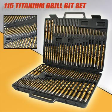 115 DrillBit Set