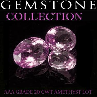 20 CWT Amethysts