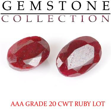 20 CWT Ruby Lot