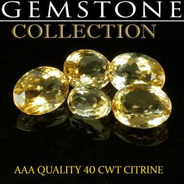 40 CWT Citrines