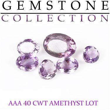 40 CWT Amethysts