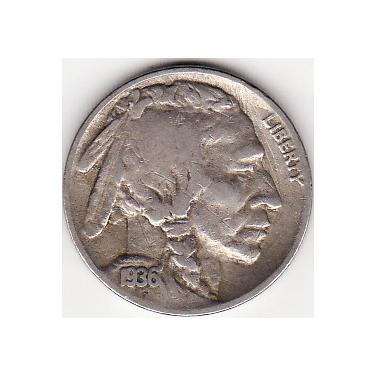 1936-S Nickel