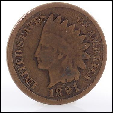 1891 Small Cents