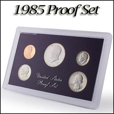 1985 5 Proof Set