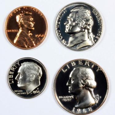 1968 PR 4 Coin