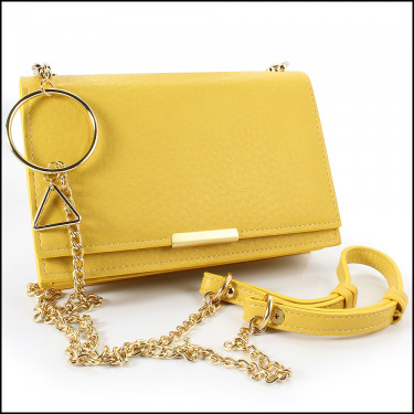 VV Yellow Purse