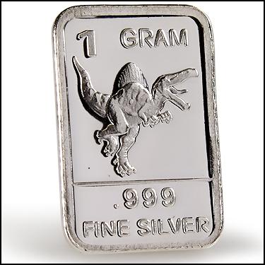 .999 Silver DINO