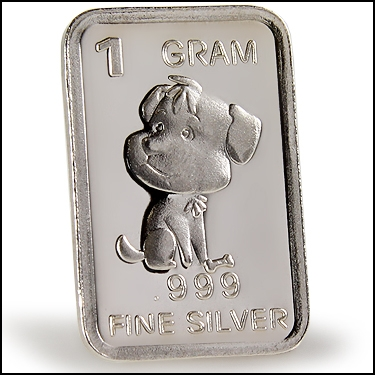 .999 Silver PUP