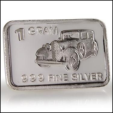 .999 Silver CAR