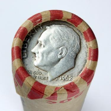 1962 10c on 1c