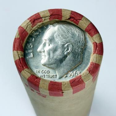1963 10c on 1c