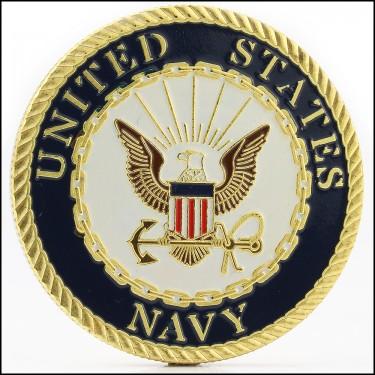 Navy Knight Coin
