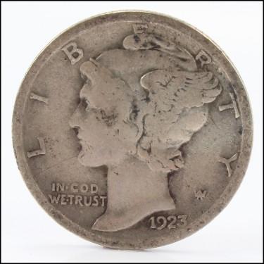 1923 P Mercury