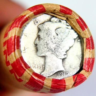 1919 10¢-1¢ Roll