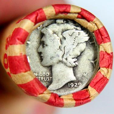 1929 10c-1c Roll