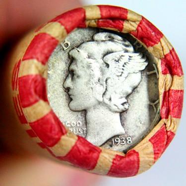 1938 10¢-1¢ Roll