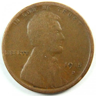 1915 D 1Wheat¢