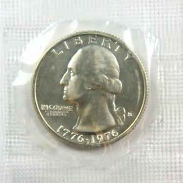 '76BU SILVER 25¢