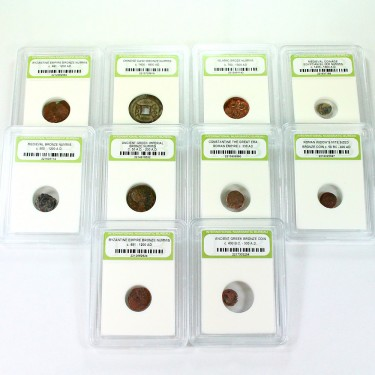 10 Ancient Coins