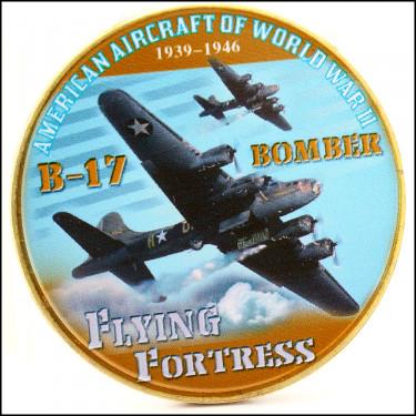 24K B-17 Bomber