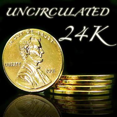 24K Lot5 Pennies