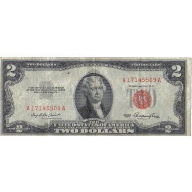 1953 L-Stamp $2