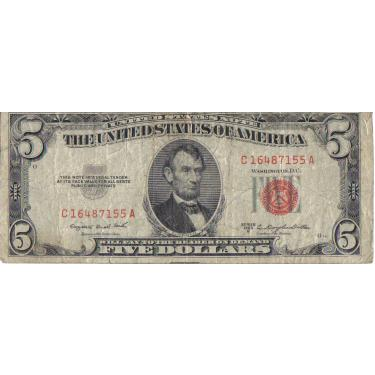 53-B Red Seal $5