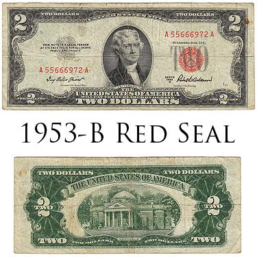 $2 Red Seal 1953