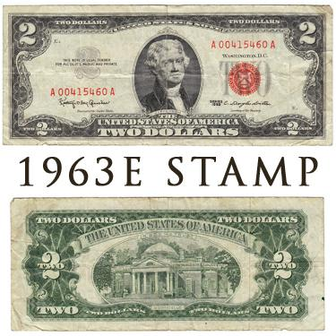 1963 E STAMP