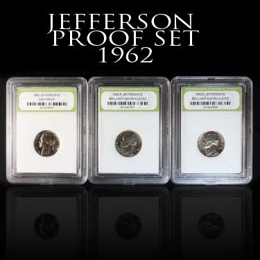 Nickel Proof Set