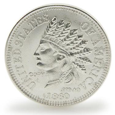 1860 Indian Coin