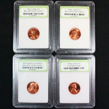 4 Coin Lincoln 1