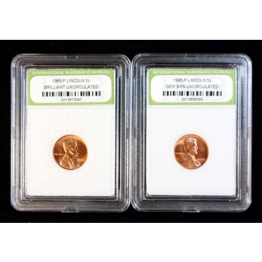 2 Coin Lincoln C