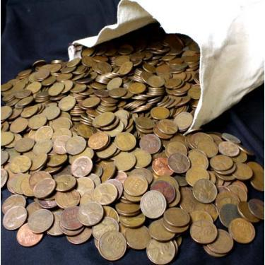 5000 Wheat Cents