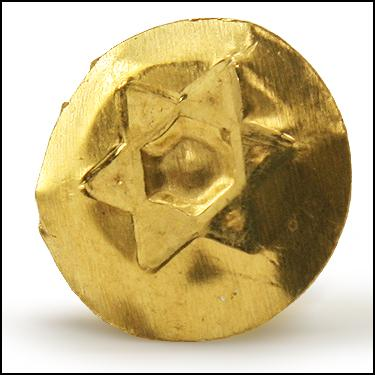 24KGLD Hexagram