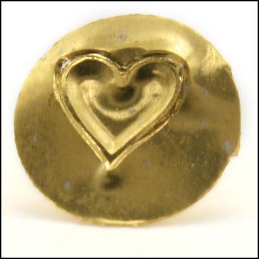 24K Gold Heart
